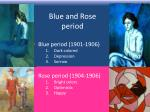 blue and rose period