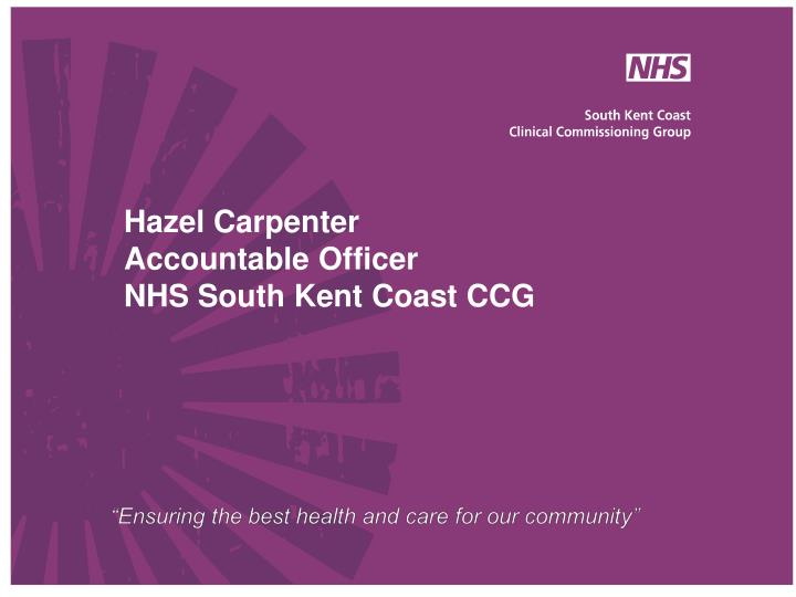 reorganisation of the nhs The reorganisation of the national health service this paper is concerned with the major changes, which have taken place in the national health service (nhs) following the nhs and community care act 1990.