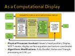 as a computational display1