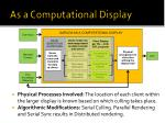 as a computational display3
