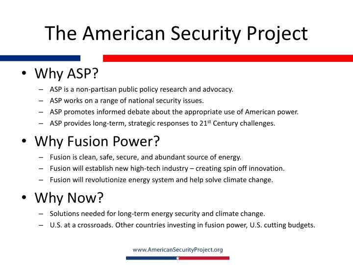 The American Security Project
