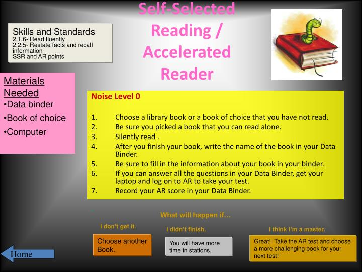 Self-Selected Reading / Accelerated Reader