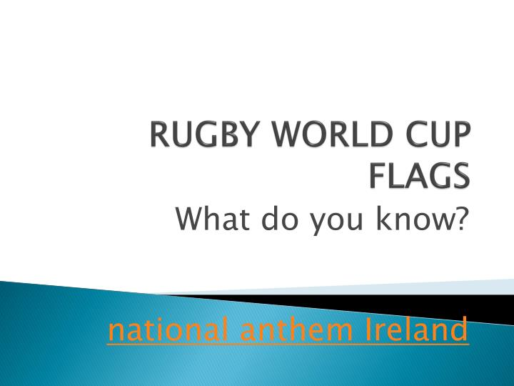 rugby world cup flags n.