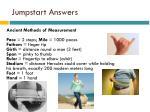 jumpstart answers