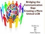 bridging the communication gap creating a more united lcb