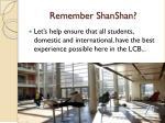 remember shanshan