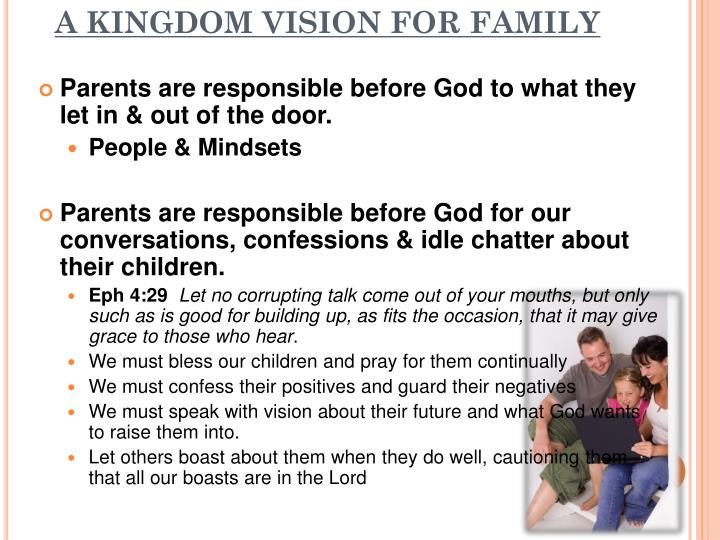 A KINGDOM VISION FOR FAMILY
