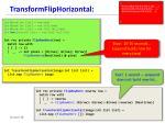 transformfliphorizontal