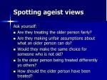 spotting ageist views