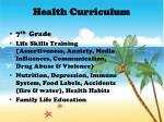 health curriculum1