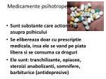 medicamente psihotrope