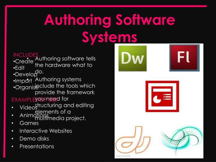 Authoring Software Systems