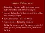 servius tullius cont