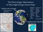 the pierre auger observatory of ultra high energy cosmic rays