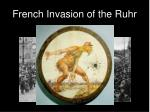french invasion of the ruhr