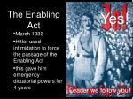 the enabling act