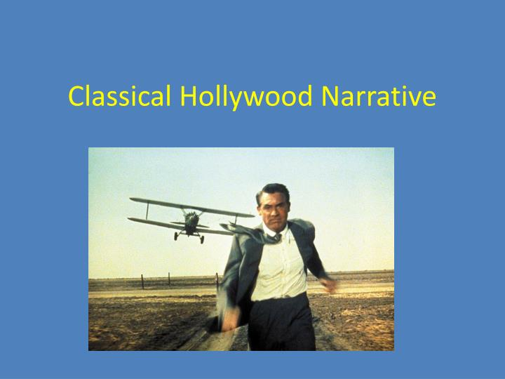 classical hollywood narrative n.