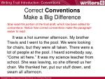 correct conventions make a big difference1