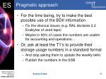 pragmatic approach
