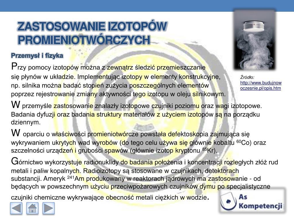 Temat. Zastosowanie promieniowania jądrowego i energii jądrowej.