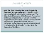 parallel audits