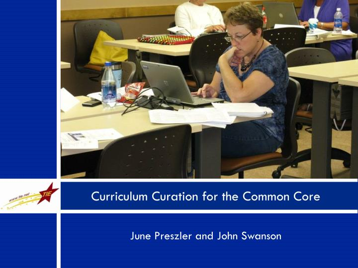 curriculum curation for the common core n.