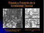 pasado y presente de la invisibilidad t cnica1