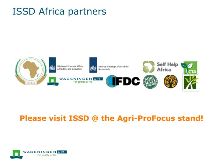 ISSD Africa partners
