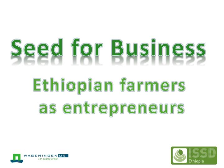 Seed for Business