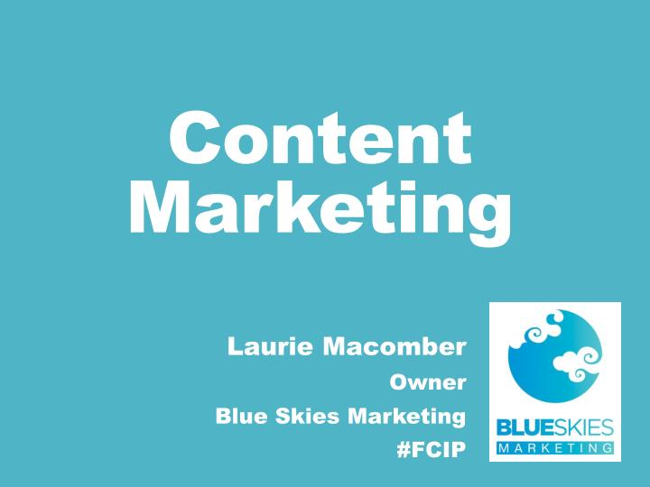 content marketing n.