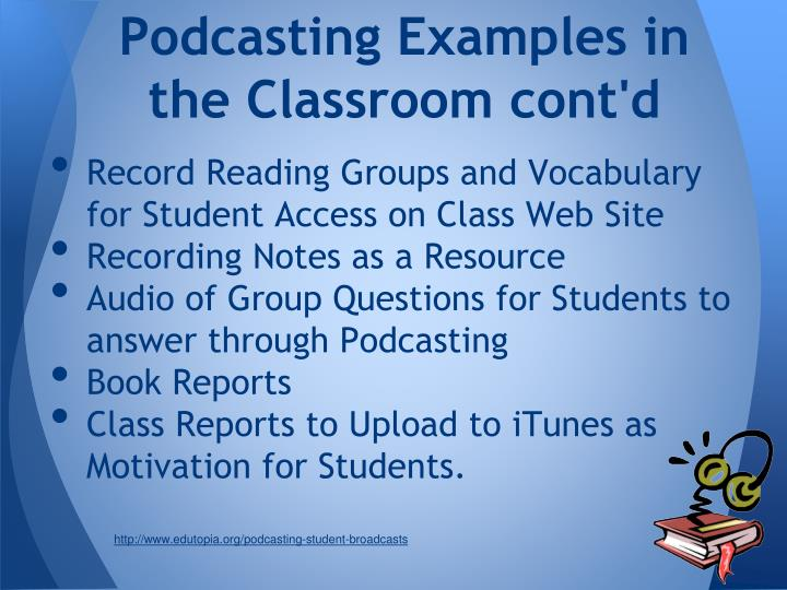 Podcasting Examples in