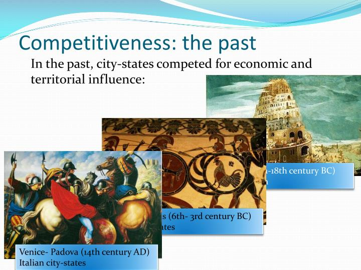 Competitiveness the past