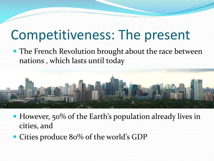 Competitiveness the present