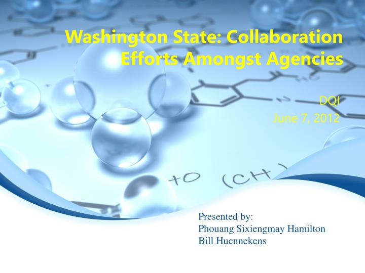 washington state collaboration efforts amongst agencies n.