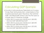 calculating gdp example