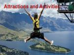attractions and activities