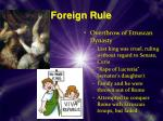 foreign rule1