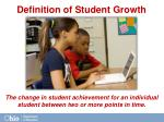 definition of student growth