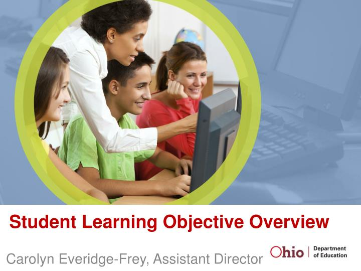 student learning objective overview n.
