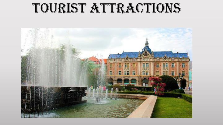 tourist attractions n.