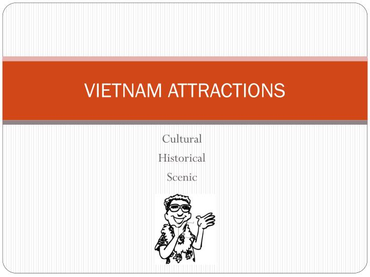 vietnam attractions n.