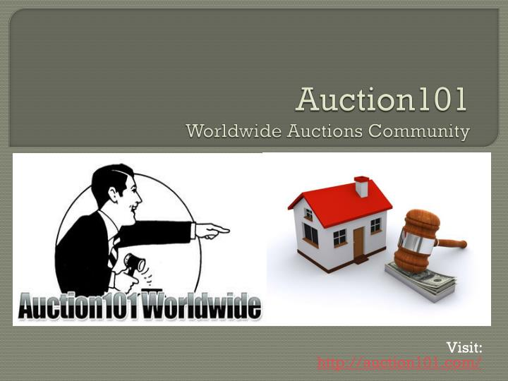 auction101 worldwide auctions community n.