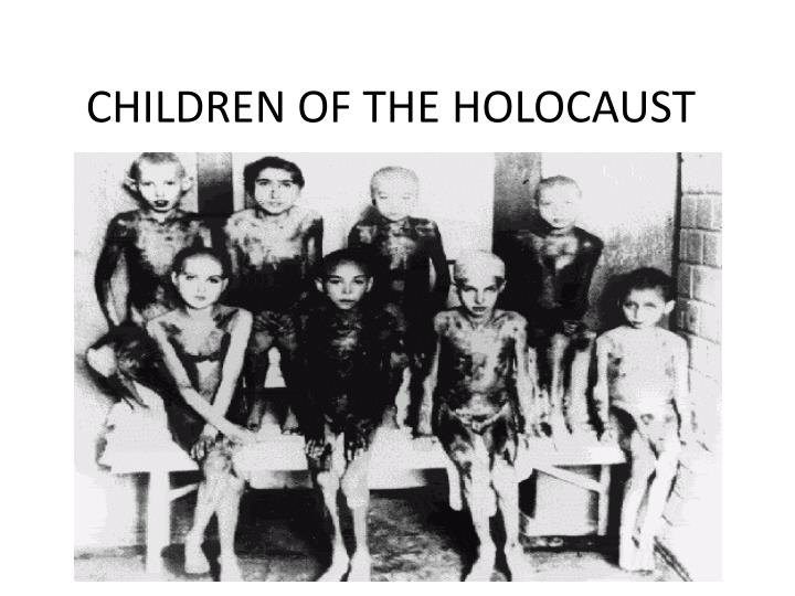 children of the holocaust n.