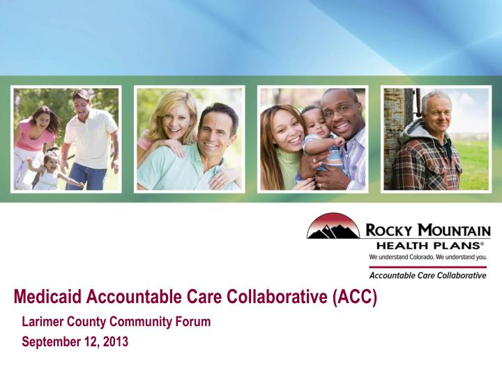 medicaid accountable care collaborative acc n.