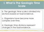i what is the geologic time scale1
