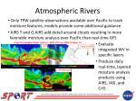 atmospheric rivers