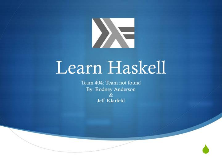 learn haskell n.