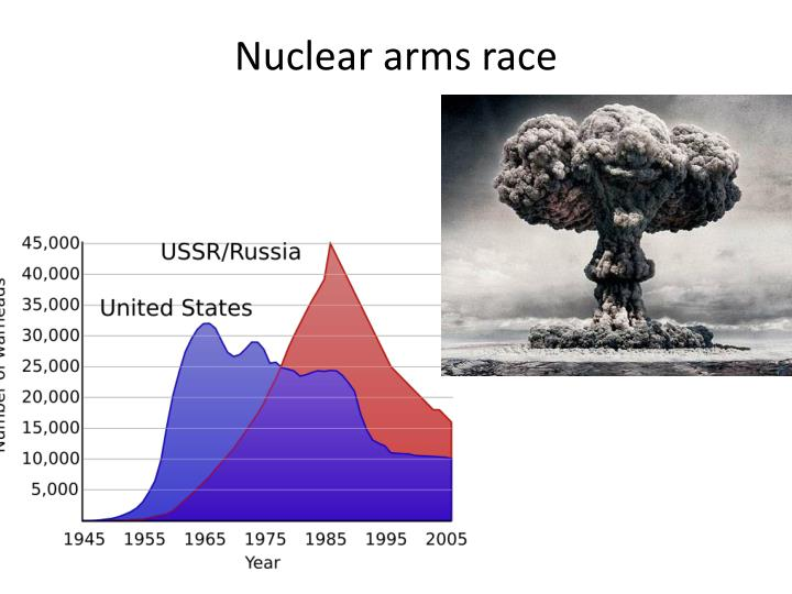 Nuclear arms race cold war essay