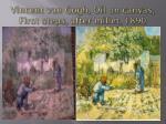 vincent van gogh oil on canvas first steps after millet 1890