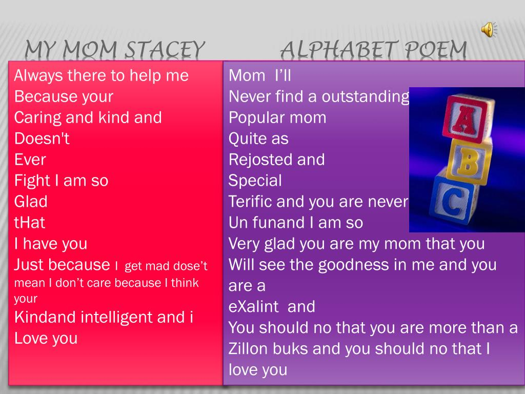 PPT - My Family and Friend Poetry PowerPoint Presentation